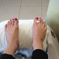 Photo taken at Images Nails And Spa by Valerie O. on 2/10/2014