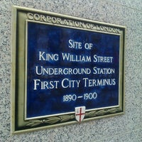 Photo taken at King William Street Tube Station (Disused) by Kevan D. on 10/3/2012