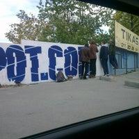 Photo taken at Omladinski stadion   OFK Beograd by Nenad M. on 11/11/2012