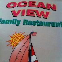 Photo taken at Ocean View Restaurant by Jake C. on 6/17/2013