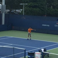 Photo taken at Practice Courts (1-5) - USTA Billie Jean King National Tennis Center by Angie G. on 9/11/2015