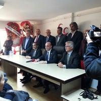 Photo taken at MHP Denizli İl Başkanlığı by Imdat A. on 1/25/2015