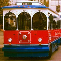 Photo taken at Anheuser-Busch Trolley by Florence H. on 10/14/2013