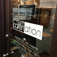 Photo prise au Cafenation par Chris M. le12/28/2012