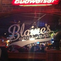 Photo taken at Blaine's Grill & Bar by Laurel C. on 2/23/2013