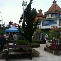Photo taken at Morro do Elefante by Ricardo D. on 7/8/2013