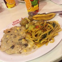 Photo taken at World Chicken by april a. on 6/14/2015