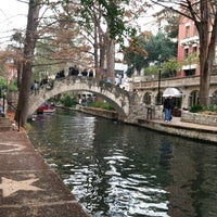 Photo taken at The San Antonio River Walk by Lauren O. on 1/1/2013