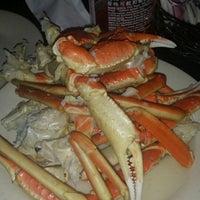 Photo taken at Hokkaido Seafood Buffet by Tashara E. on 12/29/2013