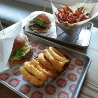 Photo taken at YEAH! Burger by Shirley K. on 9/18/2012