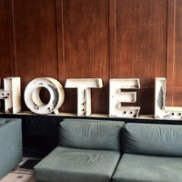Photo taken at Ace Hotel Portland by Daniela L. on 4/30/2013