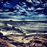 Photo taken at Praia do Sonho by Vitor M. on 2/13/2013