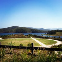 Photo taken at Hinze Dam by eat 2. on 1/13/2013