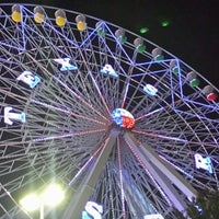 Photo taken at Texas Star Ferris Wheel by Dave G. on 9/28/2014