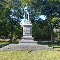 Photo taken at Friedrich von Schiller Statue by Hazel G. on 6/25/2017