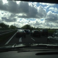 Photo taken at N205 Richting Haarlem by Hans W. on 5/23/2013