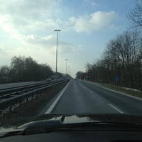 Photo taken at N205 Richting Haarlem by Hans W. on 2/12/2013