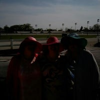 Photo taken at Maywood Park Racetrack by Kristen P. on 5/2/2015