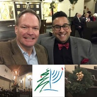Photo taken at St George's Episcopal Church by Anthony E. on 12/25/2016