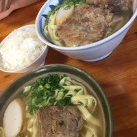Photo taken at 沖縄の味 アワセそば食堂 by Nya ♡. on 10/17/2016