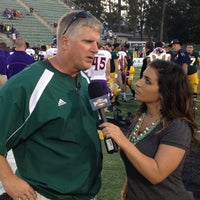 Photo taken at Strawberry Stadium by Chris M. on 10/14/2012