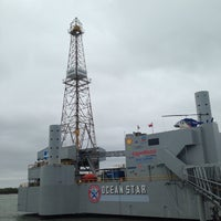 Photo taken at Ocean Star Offshore Drilling Rig & Museum by kazinho77 on 9/14/2014