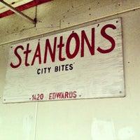 Photo taken at Stanton's City Bites by Aimee W. on 4/17/2013