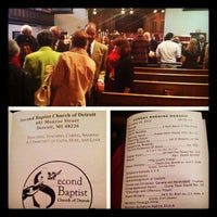 Photo taken at Second Baptist Church of Detroit by Sara P. on 10/14/2012