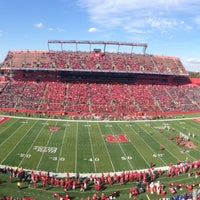 Photo taken at High Point Solutions Stadium by Jérémy F. on 10/26/2013