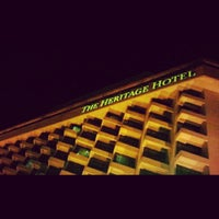 Photo taken at The Heritage Hotel by Deej C. on 12/23/2012