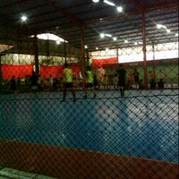 Photo taken at Futsal Town by Nindy H. on 9/8/2013