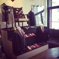 Photo taken at Sebastien Grey Clothiers by Rosie W. on 9/14/2012