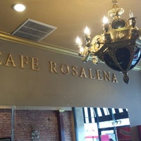 Photo taken at Cafe Rosalena by Rowdy R. on 4/4/2014