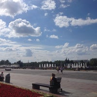 Photo taken at Фонтаны by Александр М. on 7/5/2014