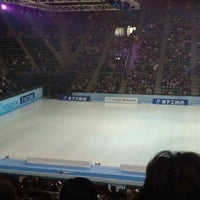 Photo taken at Ariake Colosseum by Yuko Y. on 1/12/2013