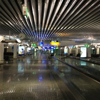 Photo taken at Frankfurt Airport (FRA) by Michal Z. on 1/26/2013