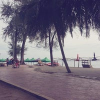 Photo taken at Pantai Teluk Kemang by Meya A. on 7/6/2013