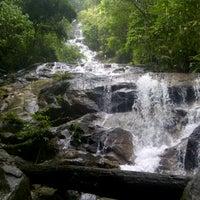 Photo taken at Kanching Waterfall by Benjamin  on 9/23/2012