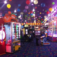 Photo taken at Big Top Arcade by Tracy S. on 10/23/2013
