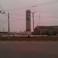 Photo taken at Площадь Победы by Rostislav Д. on 11/9/2014