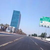 Photo taken at King Abdulaziz Rd by AbdulAziz B. on 10/13/2013