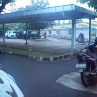 Photo taken at Area Parkir PT. DENSO Indonesia by Dani W. on 7/17/2013