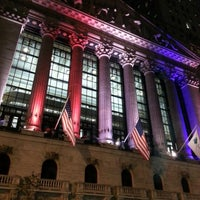 Photo taken at New York Stock Exchange by Taksi on 11/10/2012