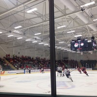 Photo taken at Ice Arena Wales by Samantha F. on 8/21/2016