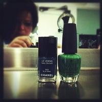 Photo taken at Ken Hair Studio by Gabriela M. on 11/24/2012