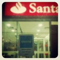 Photo taken at Santander Fazendinha by Diego C. on 10/1/2012