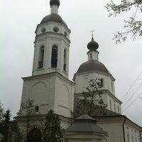 Photo taken at Церковь Рождества Богородицы в Образцово by DrConstance Graeff on 1/4/2013