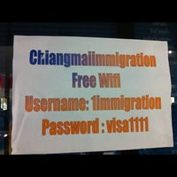 Photo taken at Chiang Mai Immigration by Manabu K. on 11/28/2012