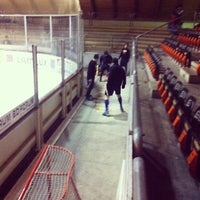 Photo taken at NETZSCH-Arena by EHC F. on 1/31/2014