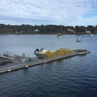 Photo taken at Muscongus Bay Lobsters by Chris D. on 10/11/2015
